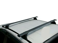 Aero Roof Rack Cross Bar for Holden Colorado 12-19 RG Black 135cm Extended