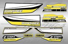 yamaha banshee full graphics kit se 60th ann THICK AND HIGH GLOSS