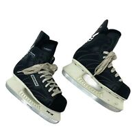 Bauer Elite Force Ice Hockey Skates Kids Youth Size 3R (Shoe Size 4) Black