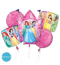 Princess Party Supplies FOIL BALLOON BOUQUET Helium Anagram Made In USA