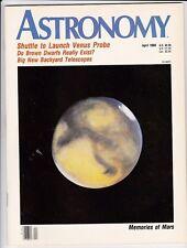 Astronomy Magazine Apr 1989, Venus Probe, Star Colours, Memories Of Mars