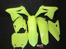 Suzuki RMZ250 2010-2017 New X-Fun complete Neon flo yellow plastic kit PK2009