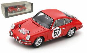 Spark S6603 Porsche 911S #57 Monte Carlo 1966 - Robert Buchet 1/43 Scale