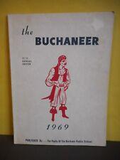 ''The Buchaneer''1969 Buchans,Newfoundland,Elementry-High School Yearbook