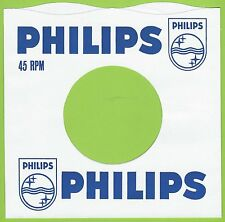 PHILIPS (wavy top) REPRODUCTION RECORD COMPANY SLEEVES - (pack of 10)