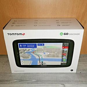"""TomTom GO Discover Navigationsgerät (7"""") Touchscreen Welt-Karten WiFi TOP"""
