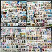 Worldwide Stamp Lots: Austria MNH - 150 Different Stamps in Full Sets & Singles