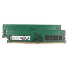 For Kingston 16GB 2x 8GB PC4-2133P 17000 DDR4-2133MHz RAM DIMM Desktop Memory