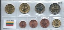 1x série UNC (8 pièces) 2€---1cent Lituanie 2015 (neuves) sous pochette