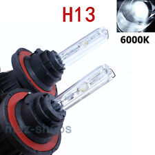 H13 9008 6000K AC 35W Bi-Xenon H/L Dual Beam HID Replacement Headlight Bulbs 2Pc