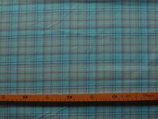 Baumwollstoff (€13/m²) 0,5m kariert bunt 1,45m breit
