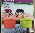 Inglesina fast table chair, hook on, new never open, cream, hold up to 37 pounds