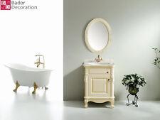 Einzelwaschtisch Luxus Waschtisch Designer Badmöbel Badezimmer Marmor Luxus Neu
