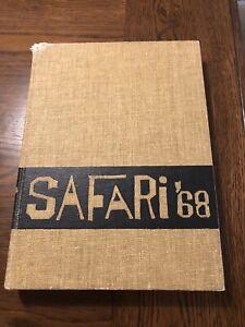 Spring Woods High School ORIGINAL 1968 yearbook Houston TX Safari