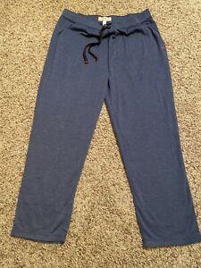 New Tommy Bahama Island Sleepwear Lounge Pajama Pants Men's Sz XL Color Blue