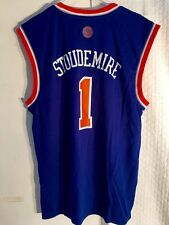 Adidas NBA Jersey New York Knicks Amare Stoudemire Blue sz XL d9a35dd74