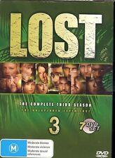 Lost Complete Third Season 7-disc box DVD NEW