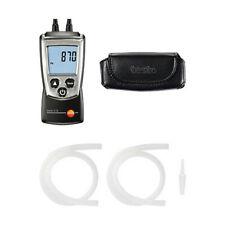 Testo 0563 0510 510KIT Differential Pressure Measurement Kit w Manometer & Hoses