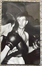 Boxing Pressfoto Bohumil Nemecek Czech Olympic Champion Photograph Post Card