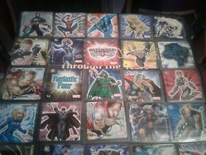 Set Of 52 Sonrics Marvel Stickers From Mexico 2003