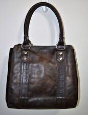 NWT Frye Slate Brown Leather Melissa Tote APU Shoulder Bag Purse DB138 $398