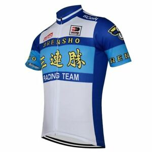 3RENSHO RENSHO #2 Japan Cycling Jersey Shirt Retro Bike Ropa Ciclismo MTB Maillo