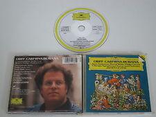 ORFF/CARMINA BURANA/CHICAGO SYMPHONY ORCHESTRA/JAMES LEVINE(GRA 415 136-2) CD