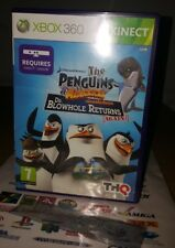 **The Penguins of Madagascar Dr. Blowhole Returns Again for Xbox 360** COMPLETE!