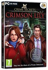 Crime Secrets - Crimson Lilly (PC CD) BRAND NEW SEALED