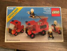 Lego Fire & Rescue Squad 6366 (1984) - Original Box & Instructions NM Box Bricks