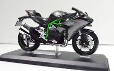Kawasaki Ninja H2 Anthracite Échelle 1:12 Moto Modèle de Aoshima