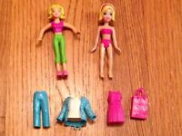 Polly Pocket Dolls Clothes and Accessories 2009