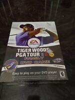 Tiger Woods PGA Tour 07 2007 Family DVD Game EA Sports NEW Sealed