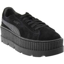 pretty nice fa7e3 b00ea Puma Fenty by Rihanna Suede Cleated Creeper Sneakers - Black - Womens