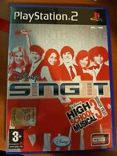 DISNEY - SING IT: HIGH SCHOOL MUSICAL 3: SENIOR YEAR - PLAYSTATION 2 PS2 USATO