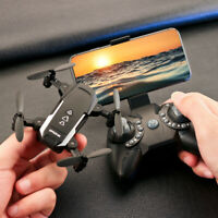 MINI Drone Selfie WIFI FPV With 1080P 2K HD Camera Foldable RC Quadcopter US