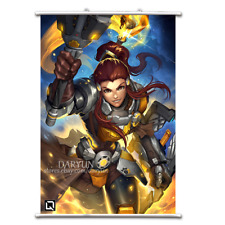 Overwatch OW Brigitte Wall Scroll Poster free shipping(23.6/'/' 31.5/'/')