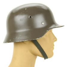 Original German M40 Wwii Type Steel Helmet- Finnish M40/55, Size 56cm, Us 7