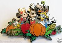 Disney Halloween Fab 4 in the Pumpkin Patch Mickey Mouse Pin **