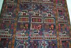 Afghan war super rug with tanks, jets, weapons(soviet union war)