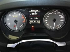 Audi A3 S3 RS3 Sportback Cabrio 8V Tacho Alu Dekoreinlage Dekorrahmen Zierblende