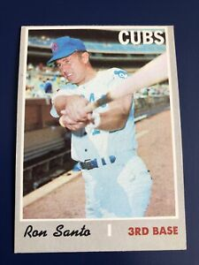 1970 Topps #670 Ron Santo Chicago Cubs VG-VGEX