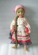 RARE VINTAGE DOLL-VORONEZH TRADITIONAL COSTUMЕ- MARCH 8-th FACTORY, USSR/RUSSIA,