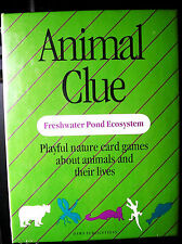 ANIMAL CLUE CARDS - nature games - animals & their lives - for all ages