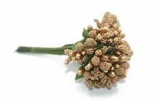 Mini Gypsophila Babies Breath Flowers Wedding Small Bunch Decoration GOLD