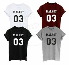 MALFOY 03 Funny Harry Potter Draco Lucius Magic Fangirl Fashion Unisex Tshirt