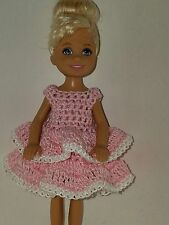 Handmade Chelse/Kelly mattel doll clothes - Light Pink
