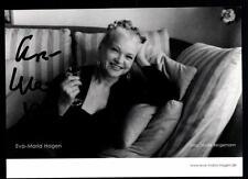 Eva Maria Hagen Autogrammkarte Original Signiert # BC 50444