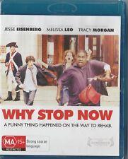 Why Stop Now  Blu ray region B  Brand New & Sealed