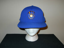 Vtg RARE NEW Milwaukee Brewers Authentic Snapback hat/cap 70s/80s MINT -Braun